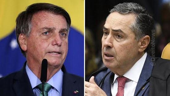 bolsonaro elogia barroso duvidar voto eletronico