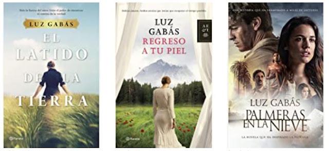 novelas de Luz Gabás, recomendación