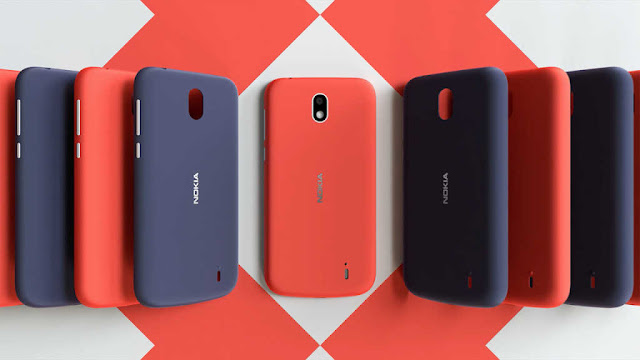 Nokia 1 Xpress-On covers