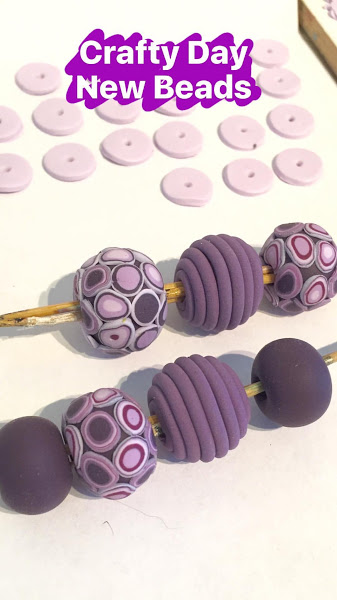 New Polymer clay beads for Autumn