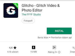 aplikasi editing video android glitcho