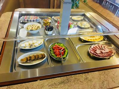 Hotel Lokis, Niedzica-Zamek, śniadanie
