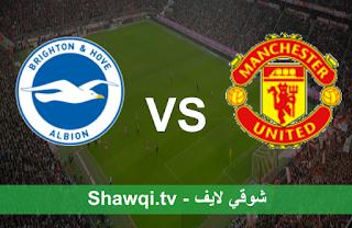 مشاهدة مباراة مانشستر يونايتد وبرايتون بث مباشر اليوم بتاريخ 04-04-2021 في الدوري الإنجليزي