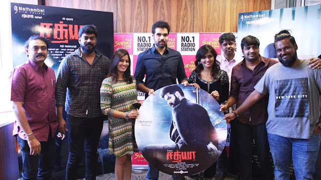 Sathya Tamil Movie Audio Launch Photos