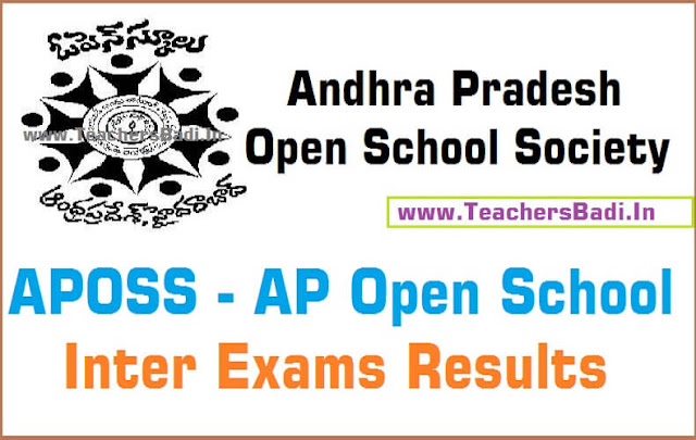 APOSS,Inter,Results,AP Open school Inter results