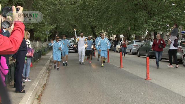 Γιάννενα: Προσωρινές Κυκλοφοριακές Ρυθµίσεις , Κατά Τη Διέλευση- Παραµονή Της Ολυµπιακής Φλόγας
