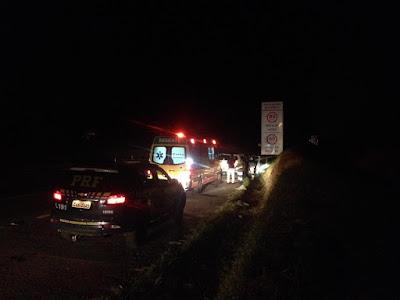 Homem é morto a tiros na BR-116 em Cajati nesta quarta-feira