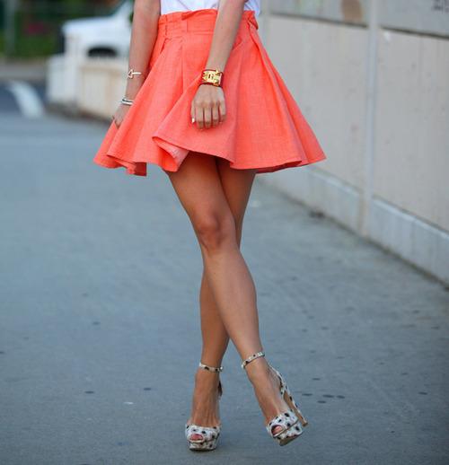 Outfits con faldas de temporada