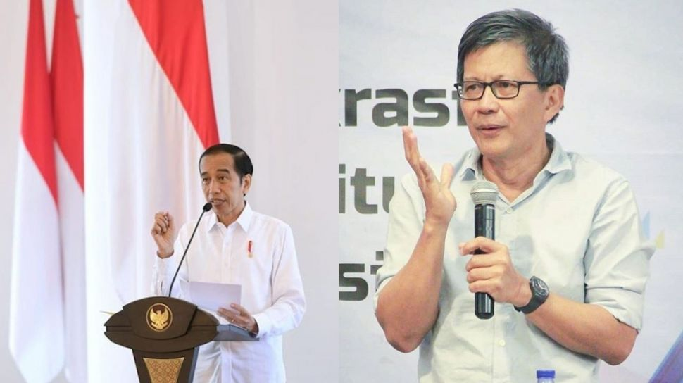 Rocky Gerung Sebut Pelarangan FPI Memperburuk Citra Pemerintah Jokowi