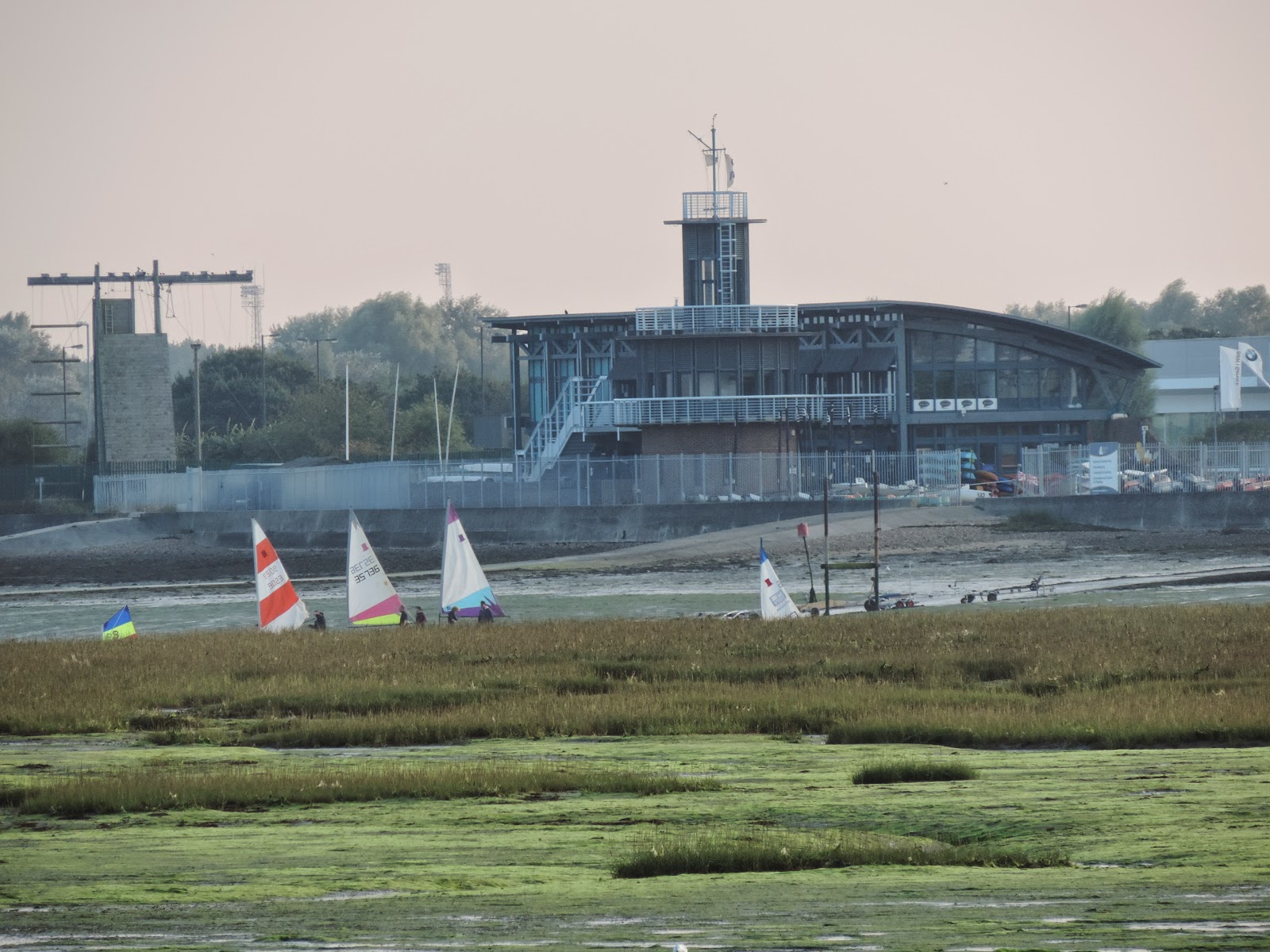 tudor sailing club portsmouth yachts in langstone harbour