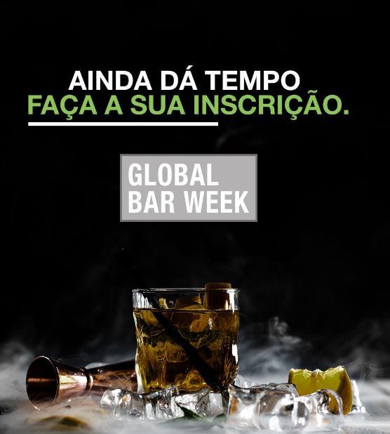 Global Bar Week é estendido até 25 de outubro
