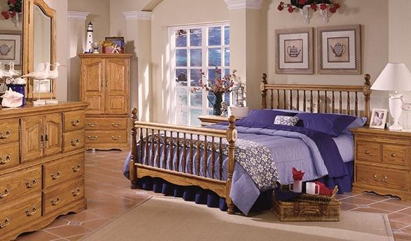 Inspirasi Furniture Kayu Kamar Tidur Rancangan Desain