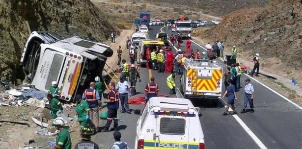 235 people killed in road accidents during Easter holiday in South Africa