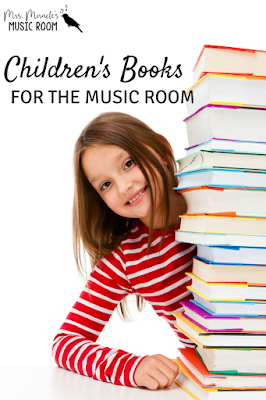 Children's books in the music room: Four great books for the elementary music classroom!