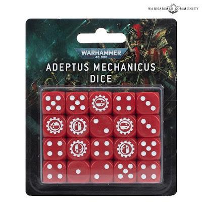 Dados Adeptus Mechanicus