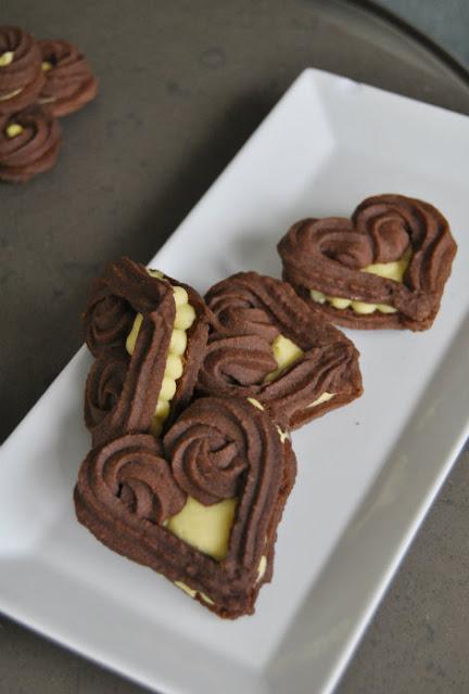 galletas vienesas, fruta de la pasion