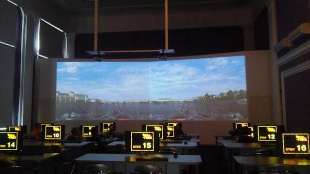Интерактивный зал библиотеки им. Никитина