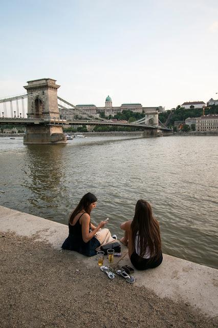Vista lungo il Danubio-Budapest