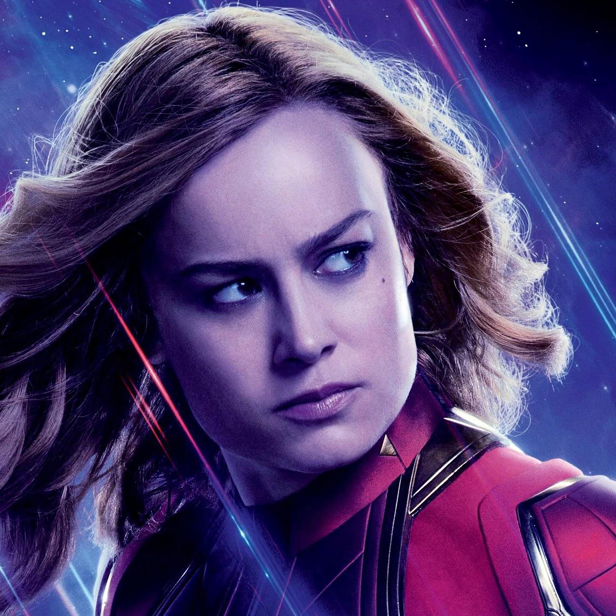 Avengers Endgame Captain Marvel Carol Danvers 4k 81