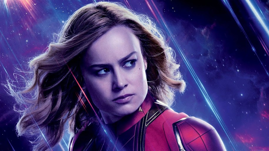 Avengers Endgame Captain Marvel Carol Danvers 4k Wallpaper 81