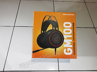 DBE GM100 Gaming Headset Murah - Nggone Ronan