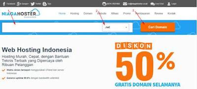 pilih domain niagahoster