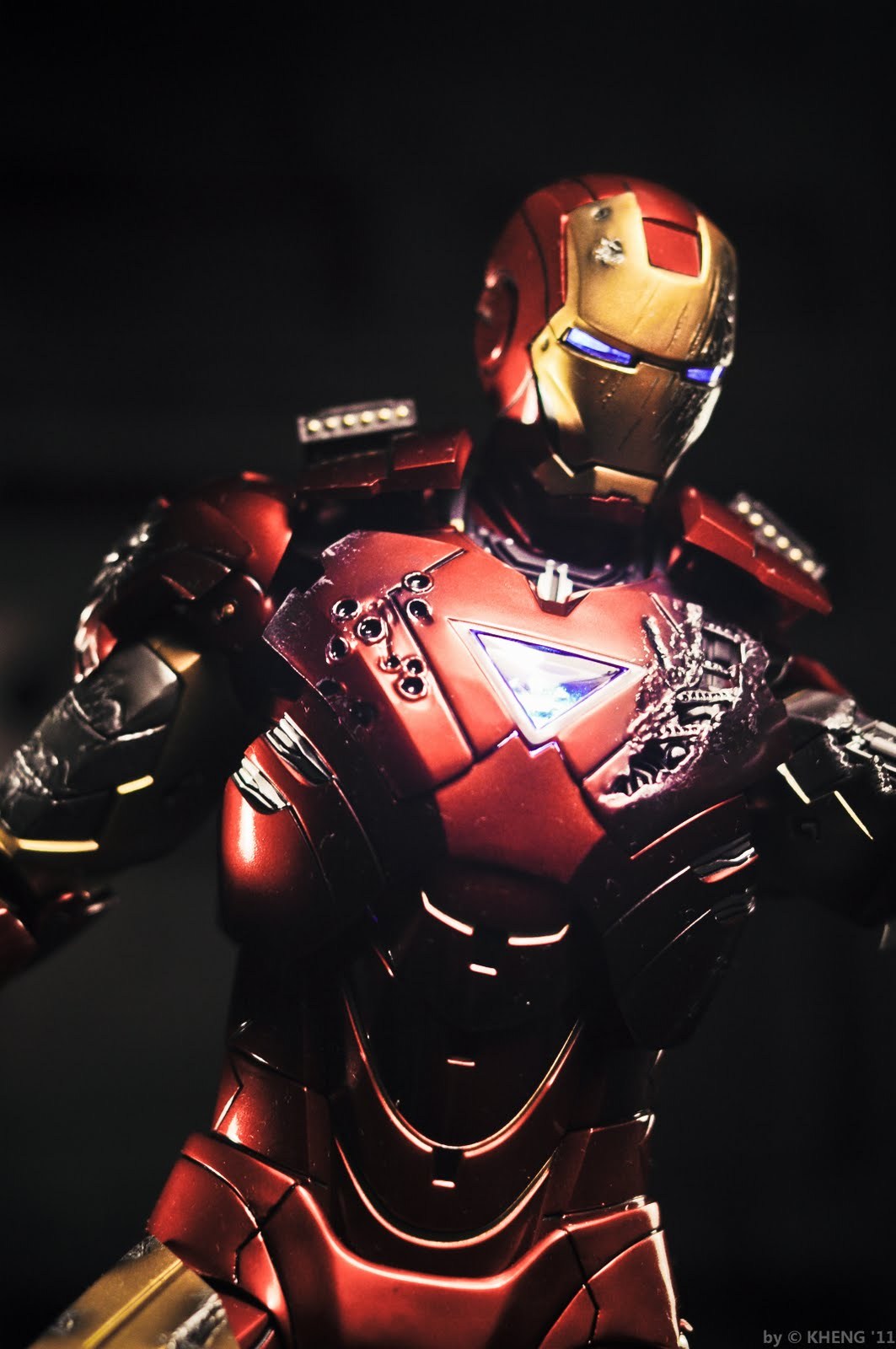 My Hot Toys Collection Photography Hot Toys Iron Man 12 Inches