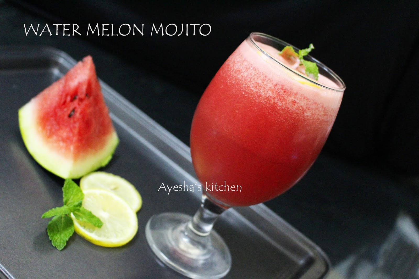 Water melon mojito mojito party drink welcome drink for Drink recipes without alcohol