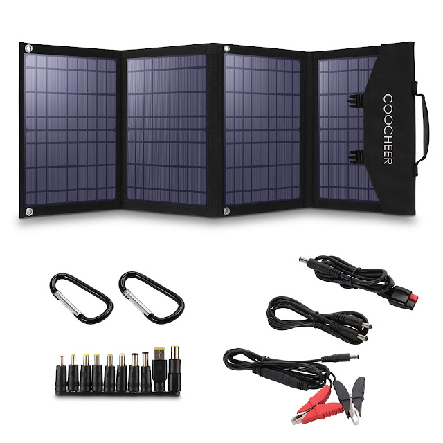 Aiolovi Portable Solar Panel Charger