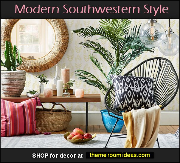 Modern Southwestern decor