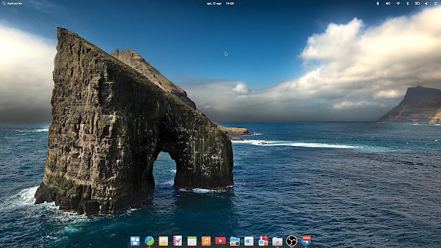 Area de trabalho do Elementary OS 6 das mais lindas já vistas