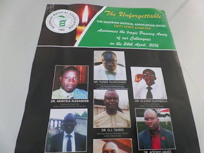 The 6 doctors who died in kaduna road accident along with their driver