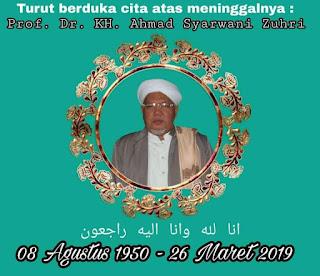 Biografi Prof. Dr. KH. Ahmad Syarwani Zuhri Al Banjari