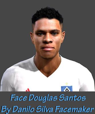 Face Douglas Santos - S.V Hamburg By Danilo Silva Facemaker