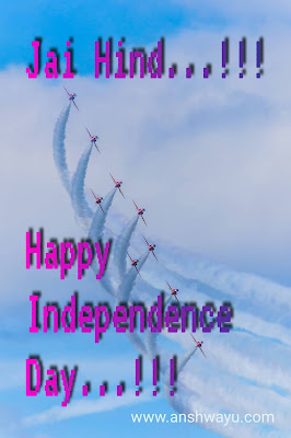 Happy independence day and raksha Bandhan