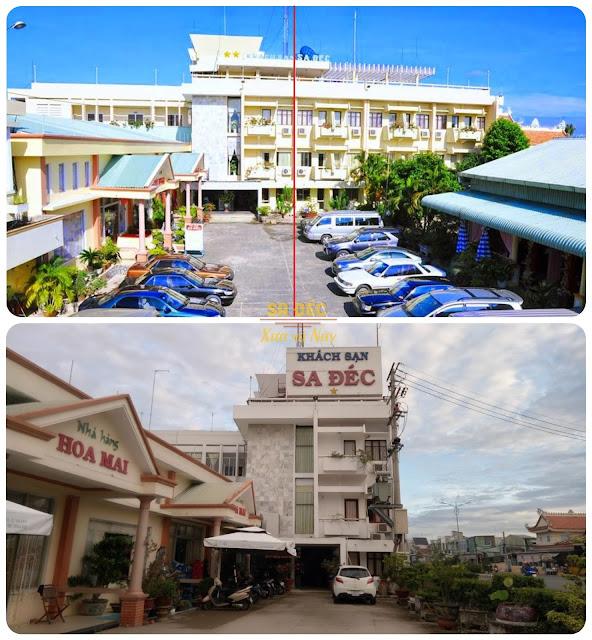 Hình ảnh khách sạn Sa Đéc xưa và nay