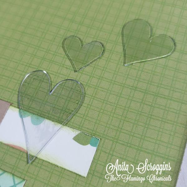 Acrylic hearts