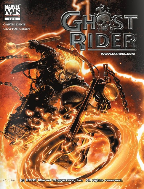 The Road to Damnation - Ghost Rider (Marvel)  - Issue 1 of 6