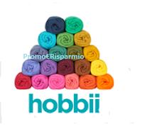 Logo Gioca e vinci gratis un buono regalo da 35€ Hobbii Italia Filati