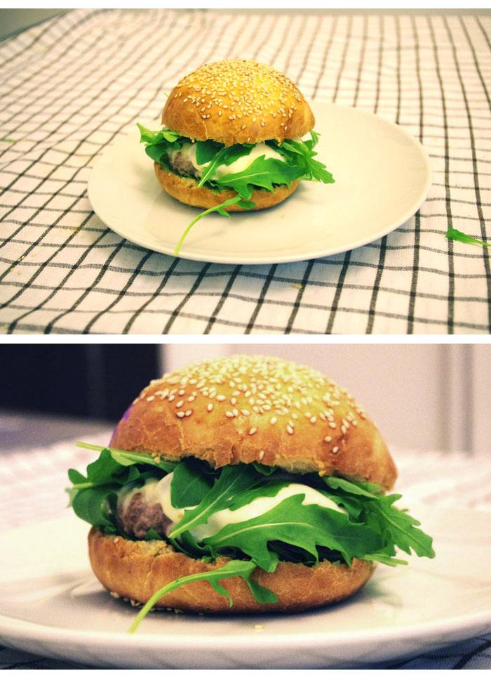 la petite cuill re l 39 hamburger. Black Bedroom Furniture Sets. Home Design Ideas