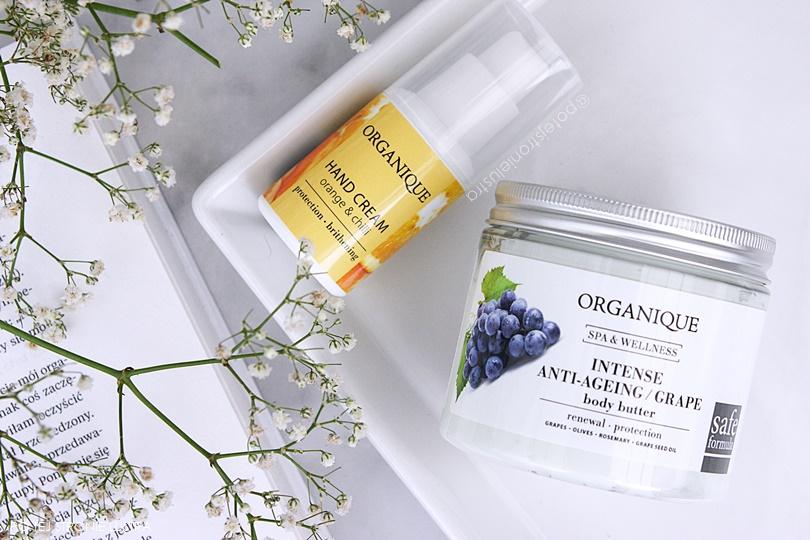 kosmetyki organique masło do ciała i krem do rąk