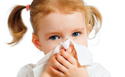 anak kecil flu