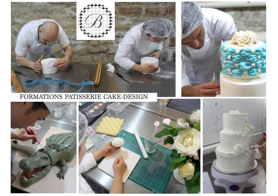 Marion Delaunay Instructor Cake Decorating classes Pastry school Los Angeles