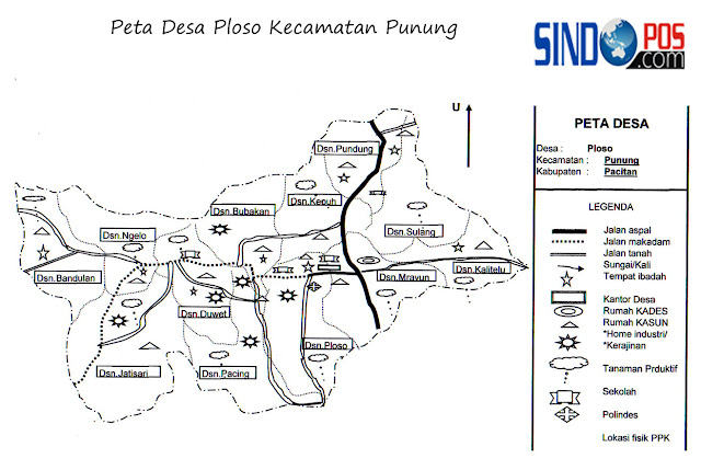 Desa Ploso Kecamatan Punung Kabupaten Pacitan