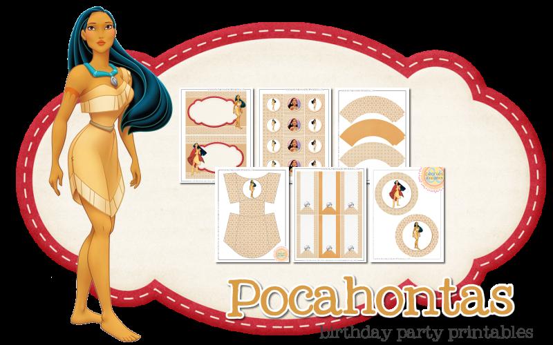 Pocahontas Free Printable Kit. | Oh My Fiesta! in english - photo #32