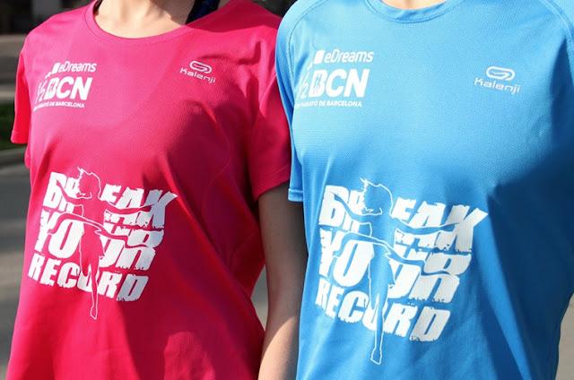 Camiseta eDreams Mitja Barcelona 2016