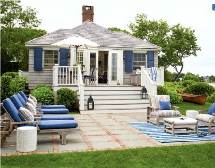 Coastal Home: Style Starboard: Coastal Outdoor Dream Room ...