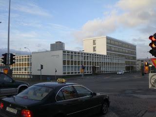 Reykjavik Police Headquarters Hverfisgata; photo by Michael Ridpath author of the Magnus crime novels