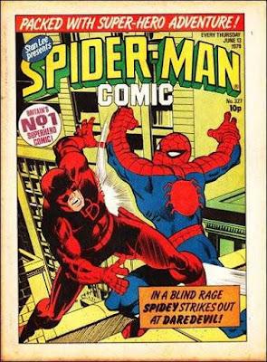 Spider-Man Comic #327, Daredevil