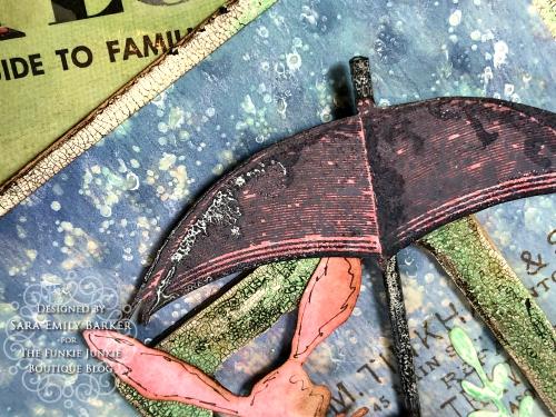 Sara Emily Barker https://sarascloset1.blogspot.com/2020/04/finding-joy-with-tim-holtz-distress.html Mixed Media Card #TimHoltz #StampersAnonymous #Ranger 3